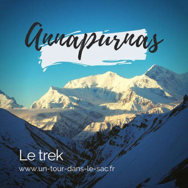 Le trek des Annapurnas au Népal