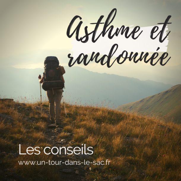 Asthme et randonnées
