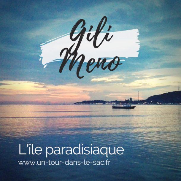 L'ile Gili Meno en Indonésie, un gout exotique du paradis