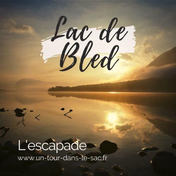 Lac de Bled en Hiver, Slovénie