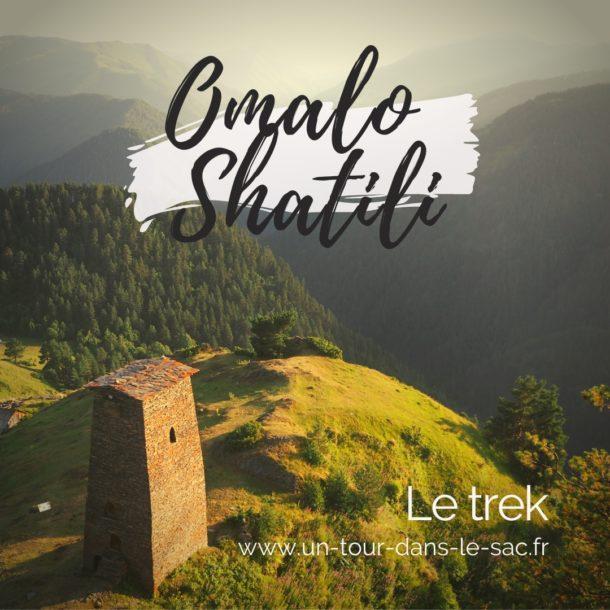 Trek Omalo-Shatili, Géorgie
