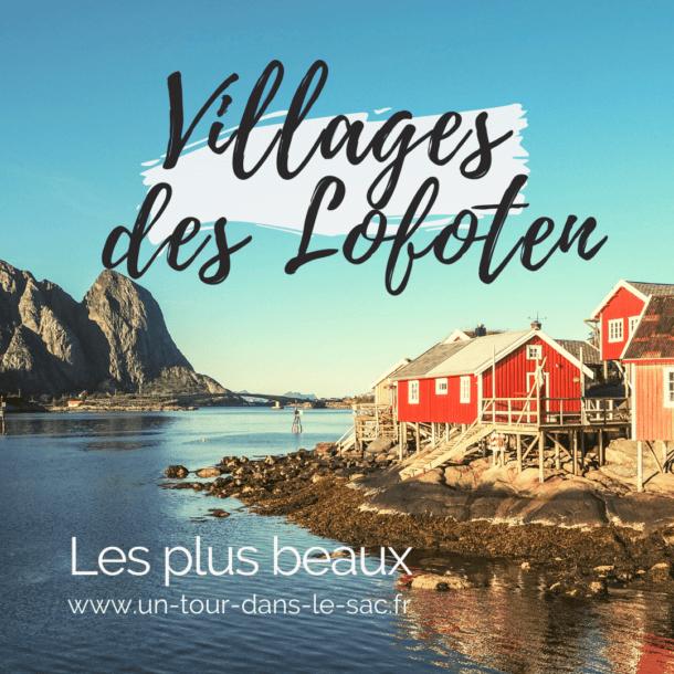 Les plus beaux villages des Lofoten