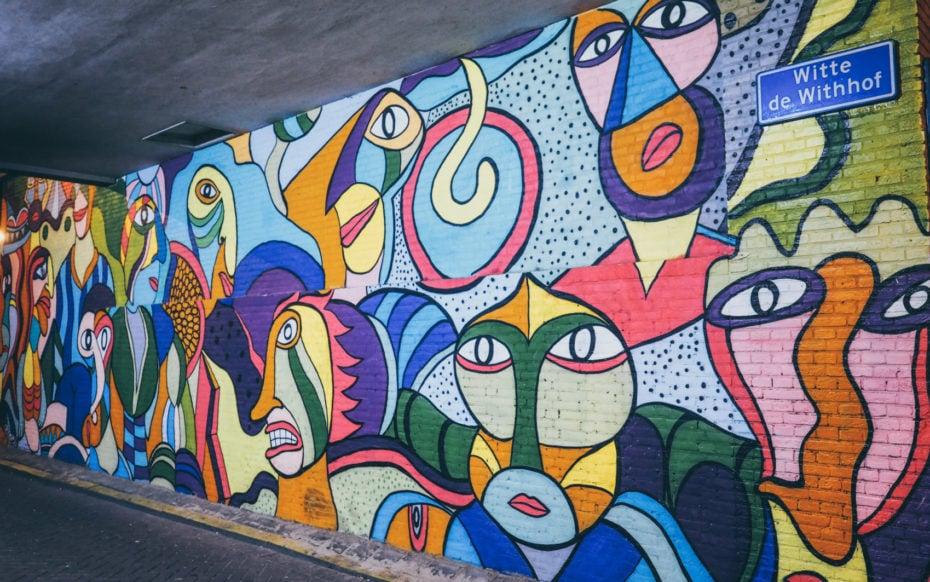 Que voir Rotterdam Streert art Rotterdam