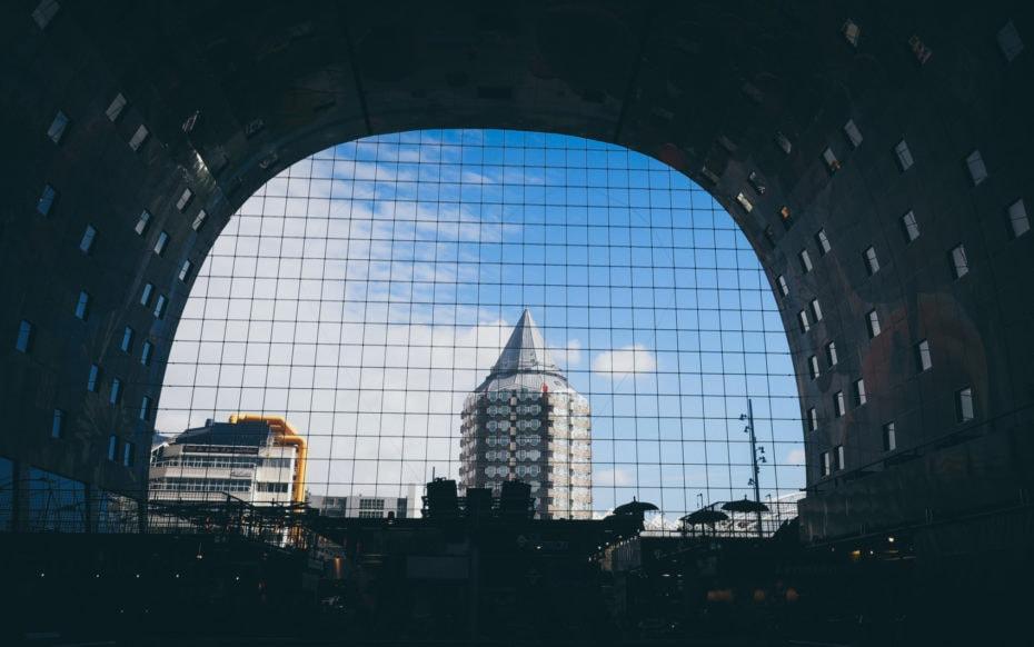 marché couvert visite Rotterdam