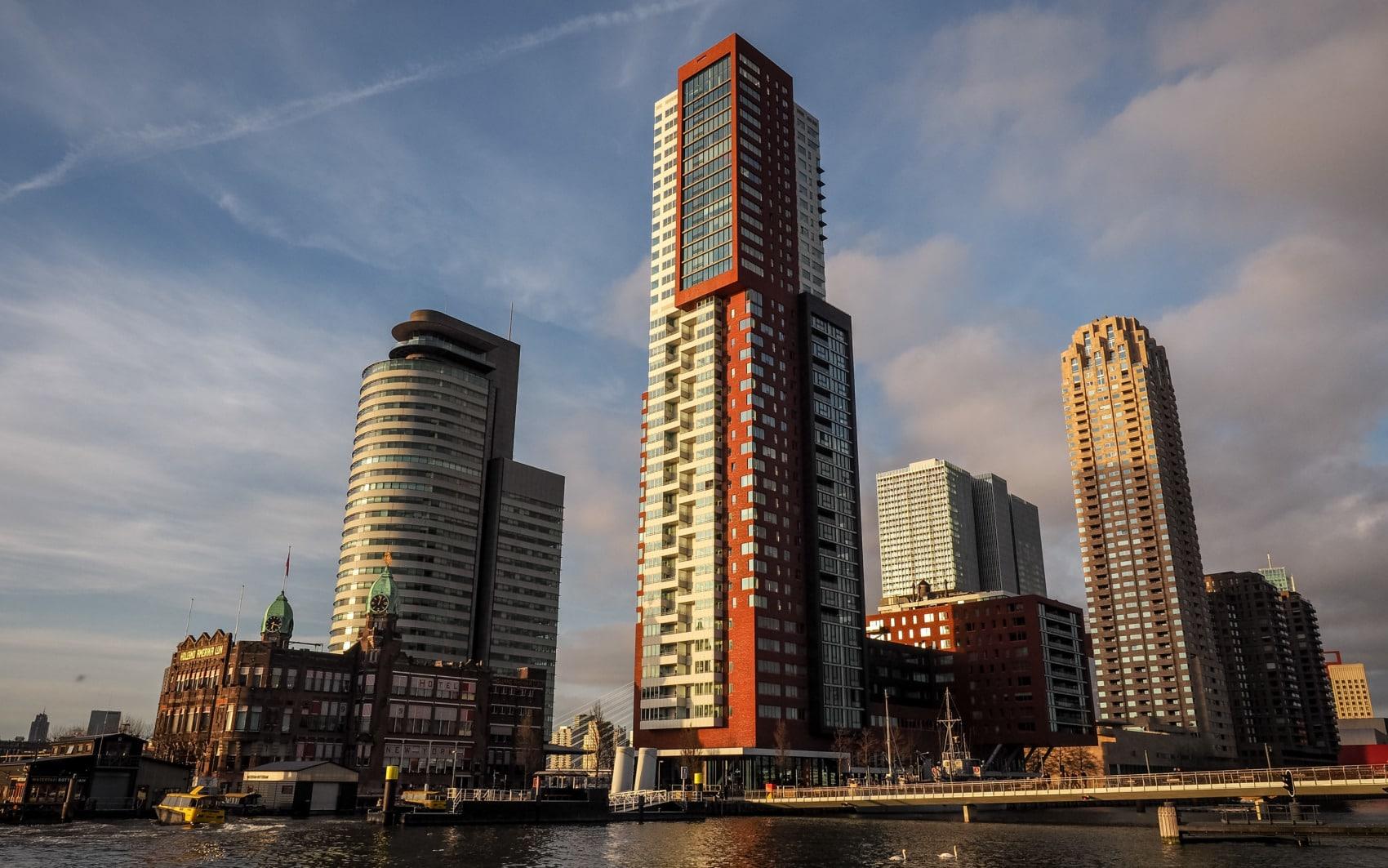 Immeubles de Rotterdam