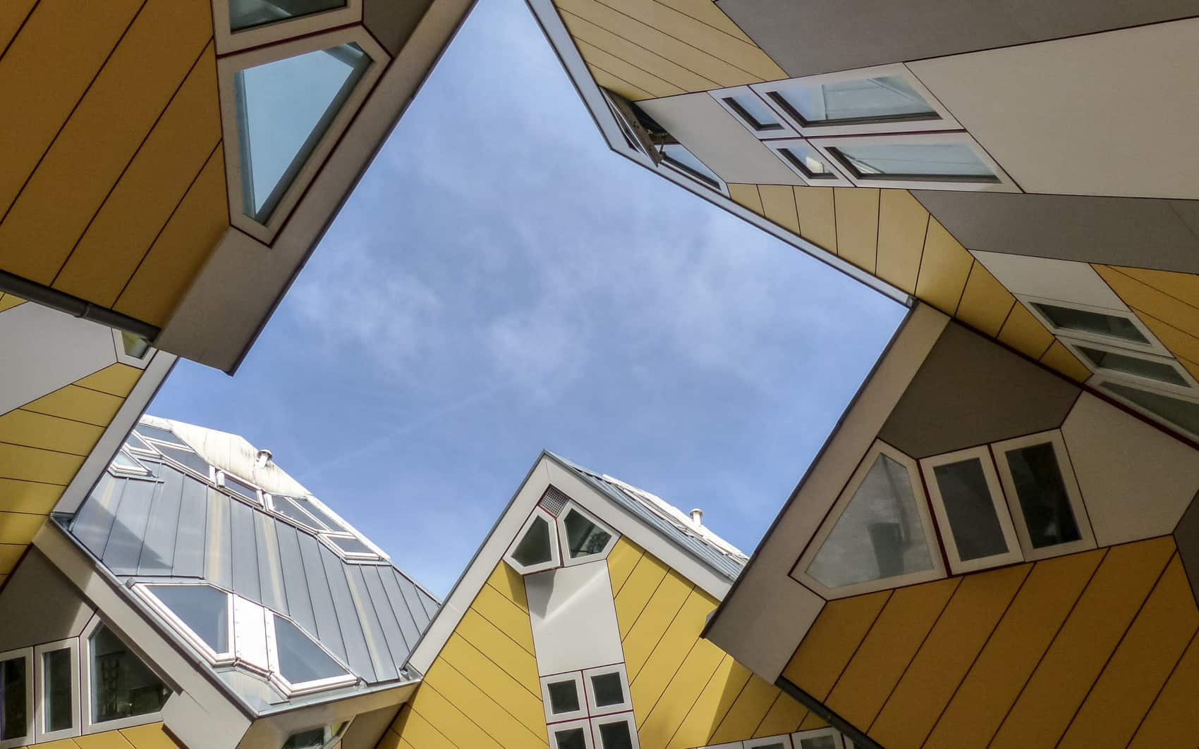 Rotterdam maisons cubes