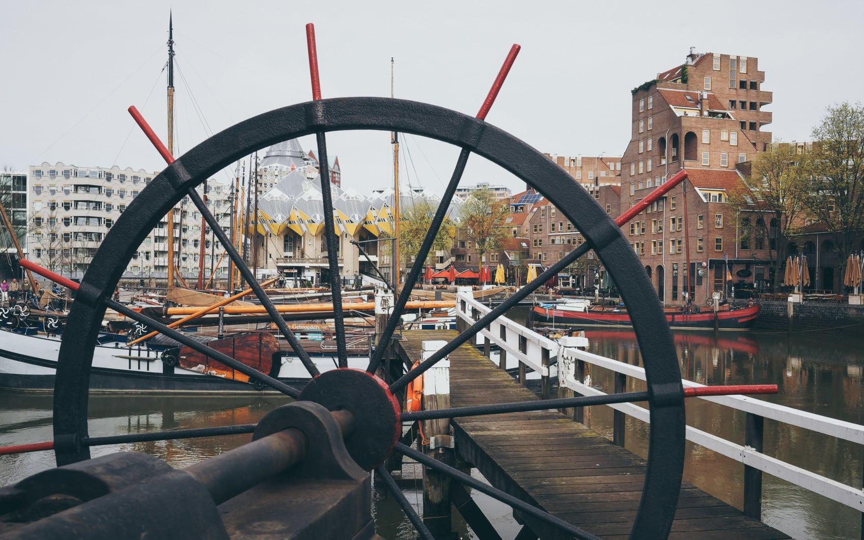 vieux port de Rotterdam