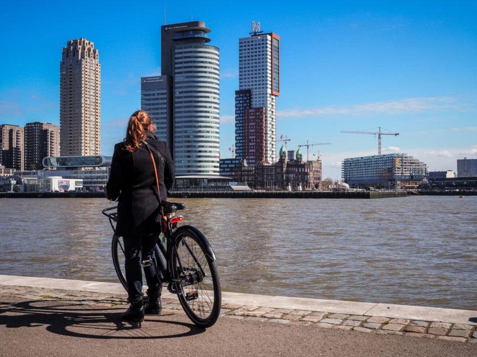 vélo Rotterdam visite