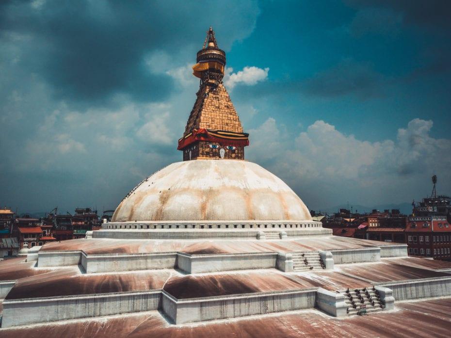 Bodnath lors d'une visite de Katmandou