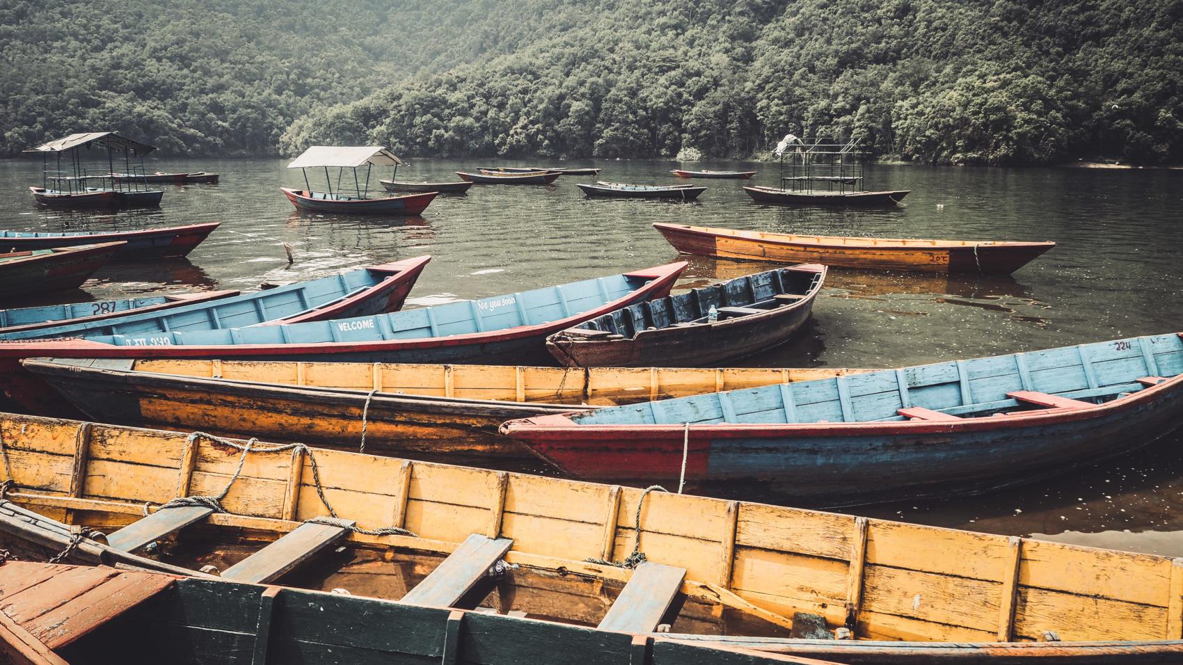Pokhara lac