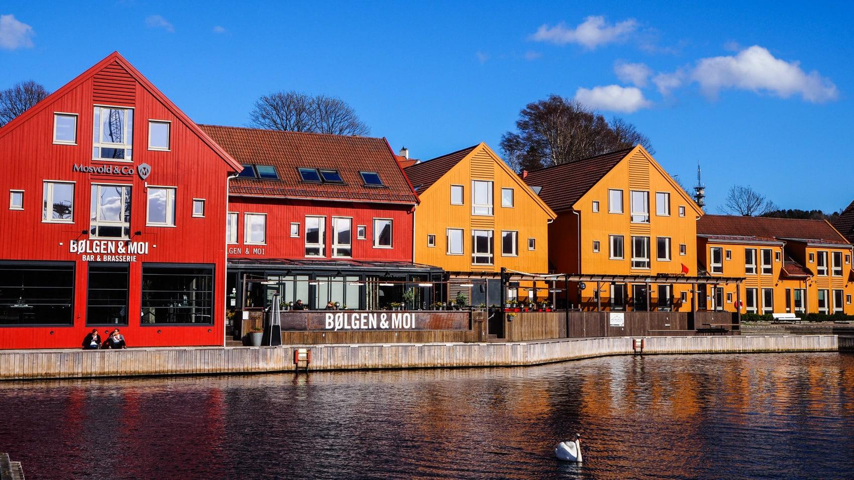 Villes du sud de la Norvège