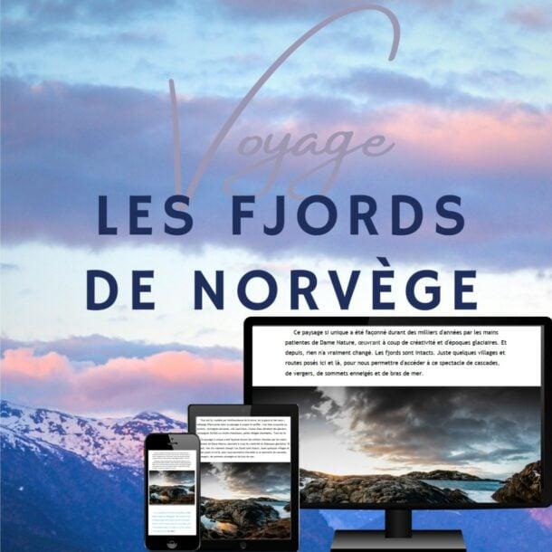 guide Norvège fjords voyage