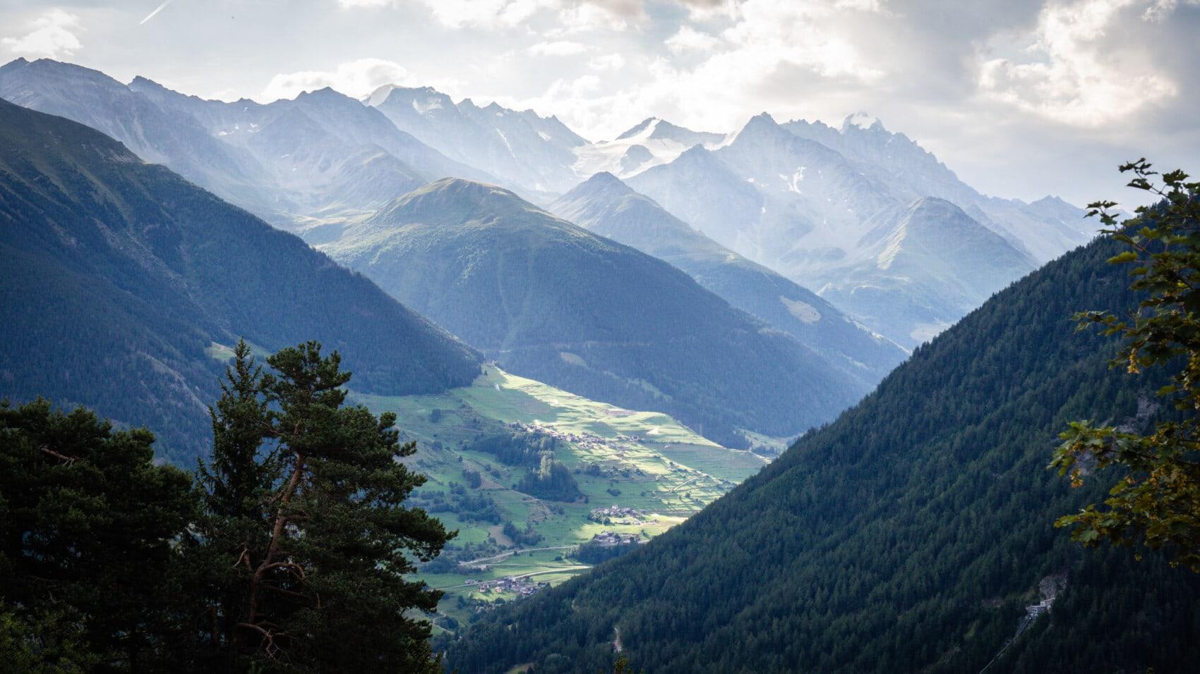 haute route des Alpes Chamonix Zermatt par les sentiers