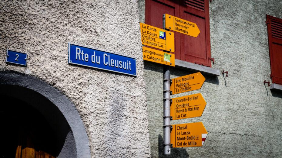 Trek Chamonix Zerlatt paneau