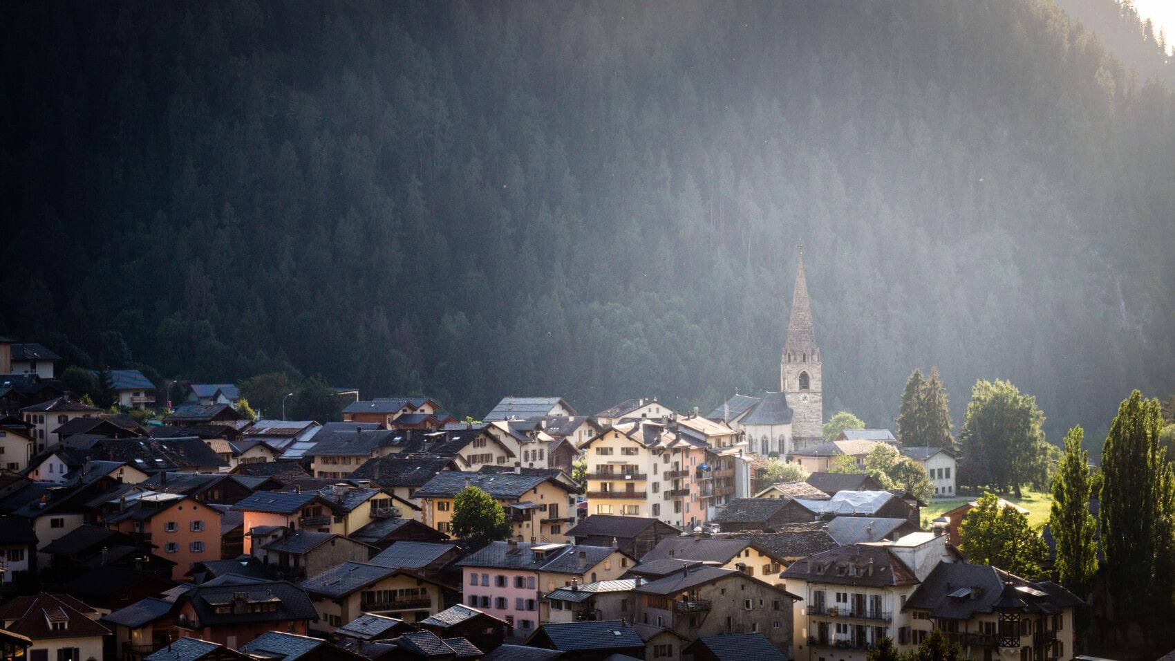 Le Châble trek chamonix Zermatt