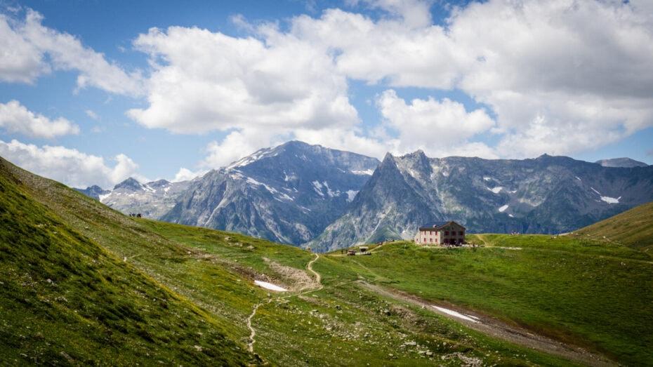 col de Balme trek chamonix Zermatt
