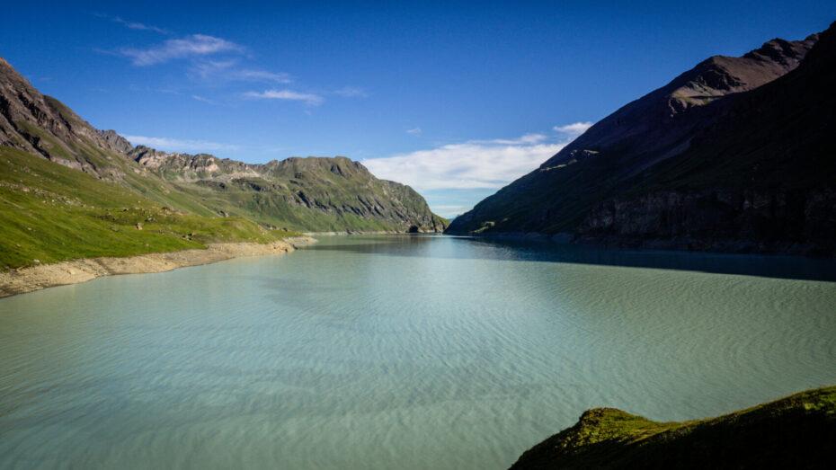 lac de dix haute route des Alpes par les sentiers