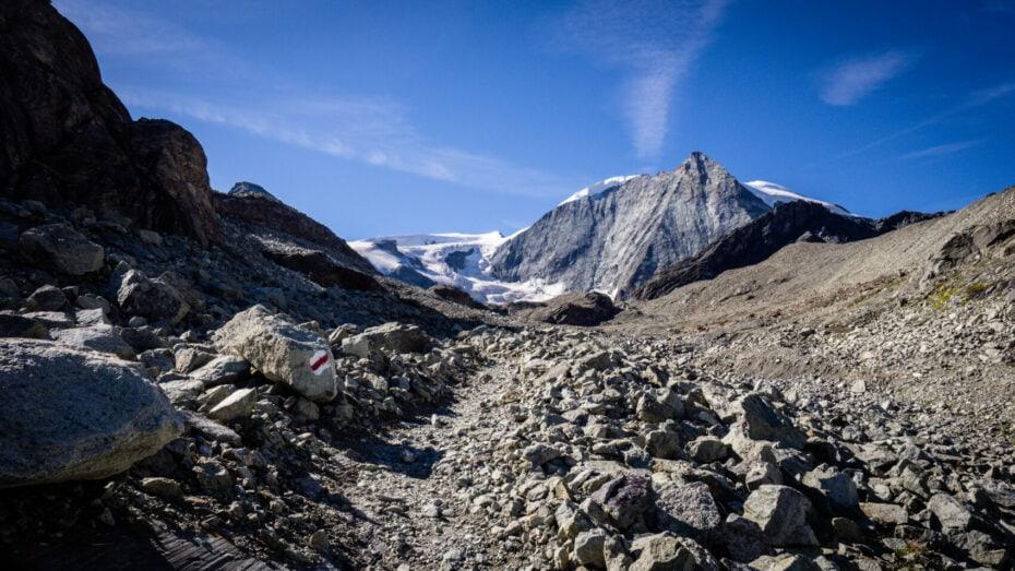 trek vers Zermatt
