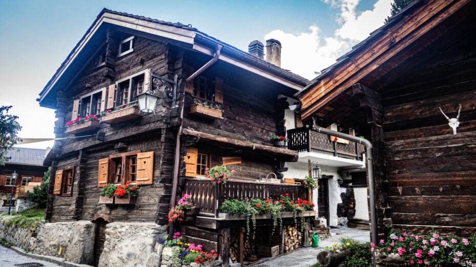 Haute route des Alpes