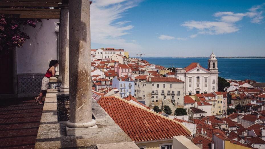 Que faire à Lisbonne Miradouro
