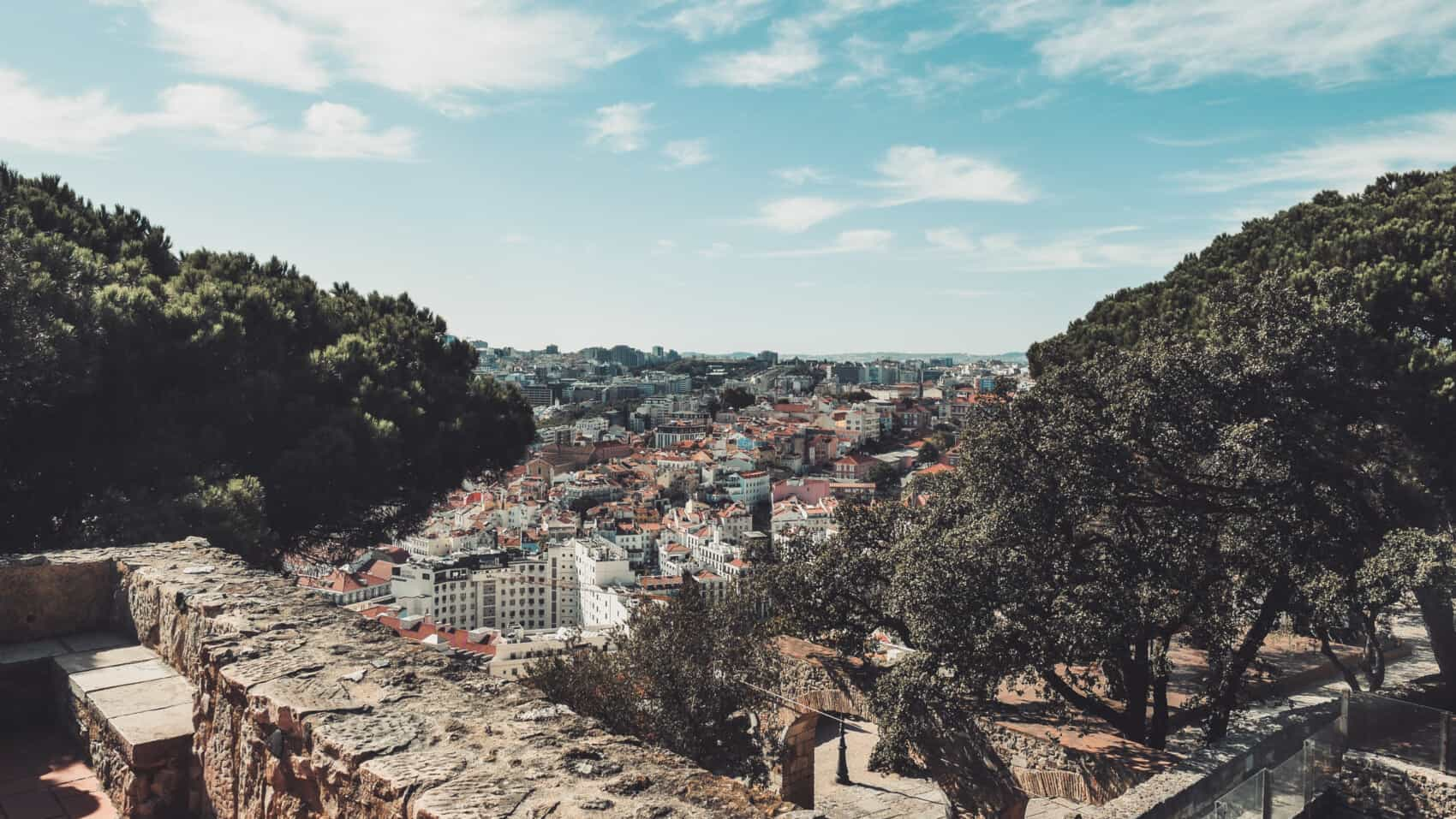 Chateau saint george Lisbonne