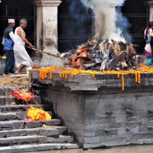 Crémation Pashupatinath