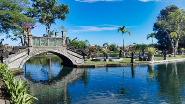 Water palace à Tirta Gangga