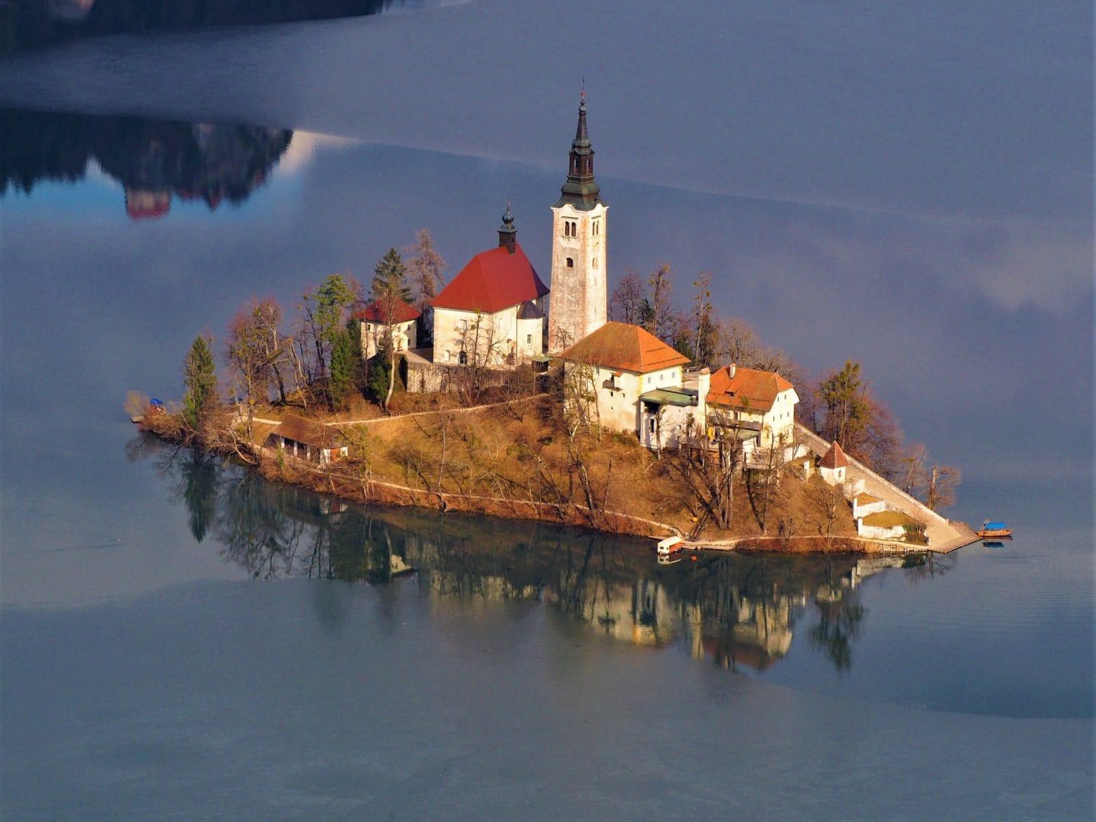 église Assomption lac de Bled