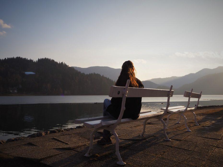 Banc le lac de Bled