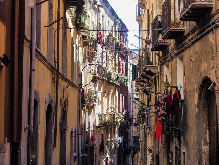 ruelles Cagliari Sardaigne