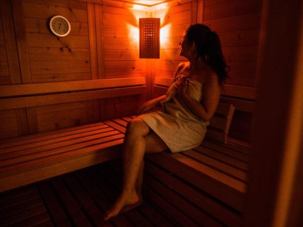 Sauna et spa Forêt-noire grands arbres