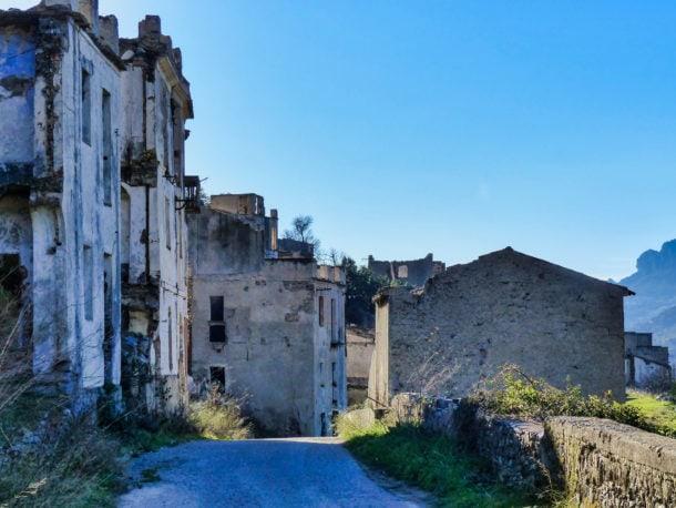 Village fantome Sardaigne