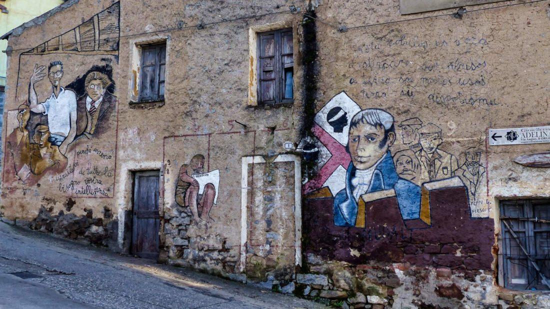 murs peints Orgosolo