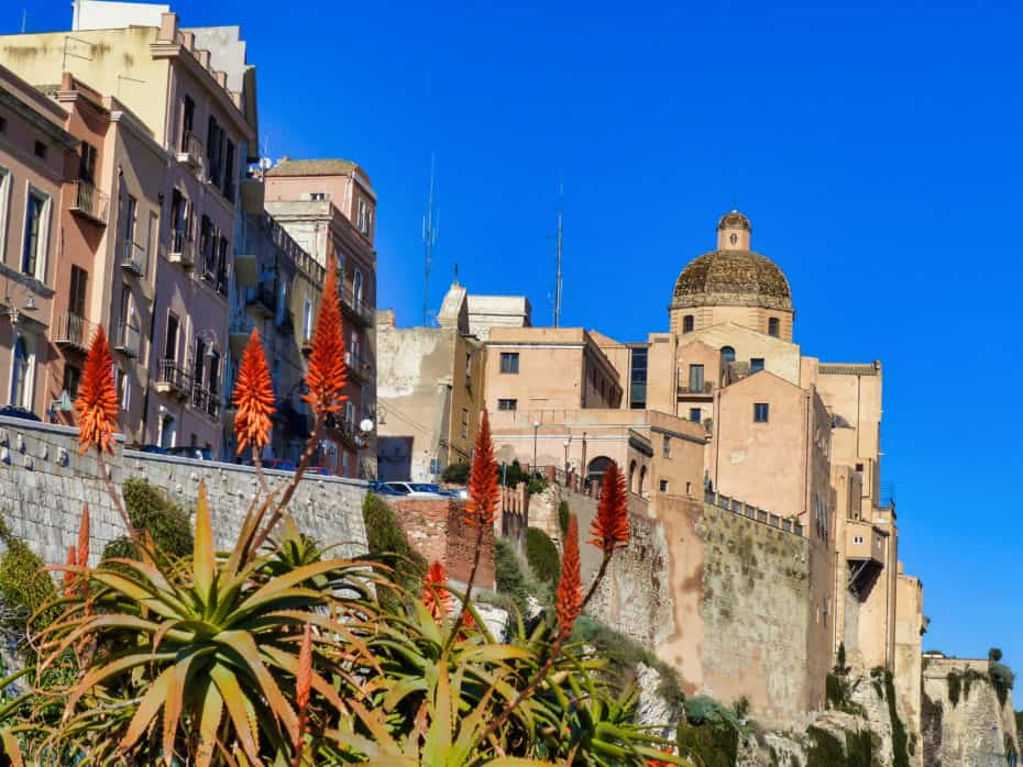 Quartier fortifié Cagliari