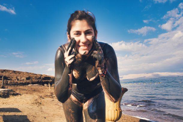 Boue pour la peau mer Morte