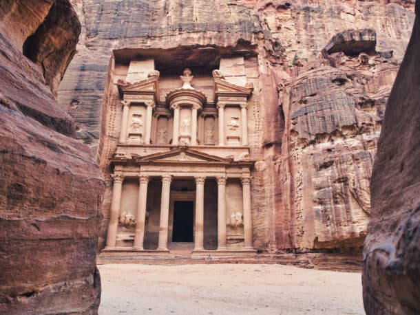 trésor Khazneh Petra
