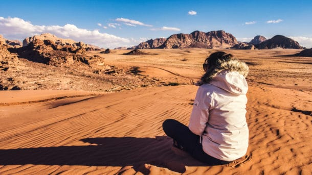 dunes wadi rum