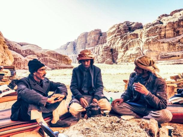 guide bédouin wadi rum