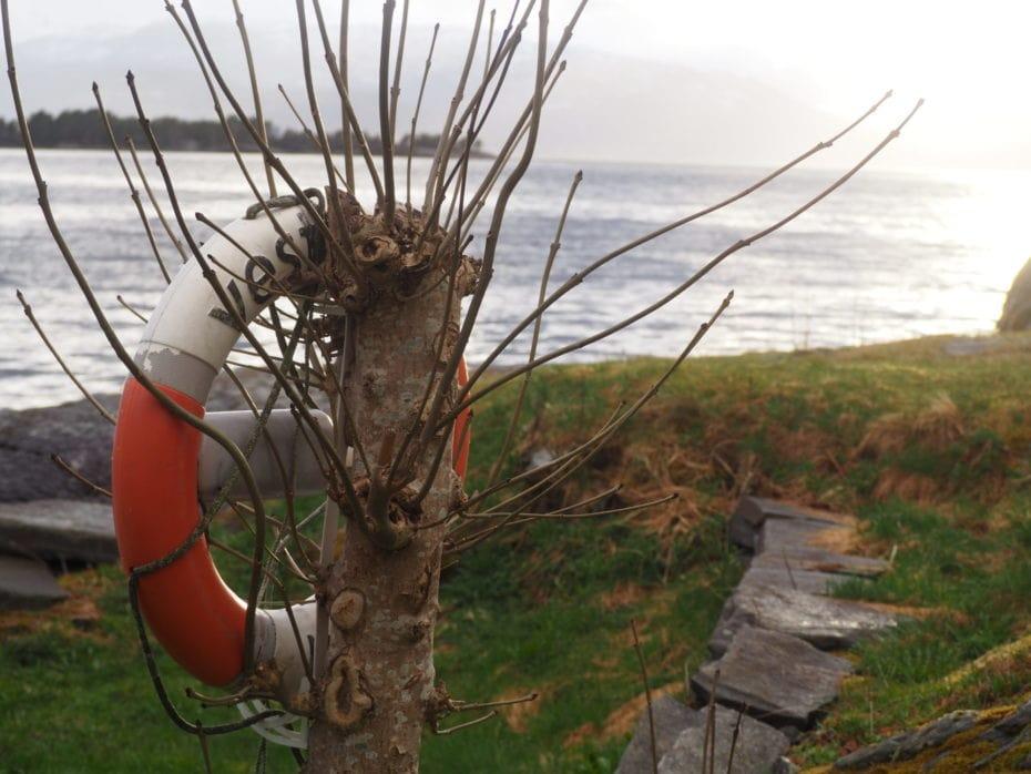 bouée de sauvetage harganderfjord