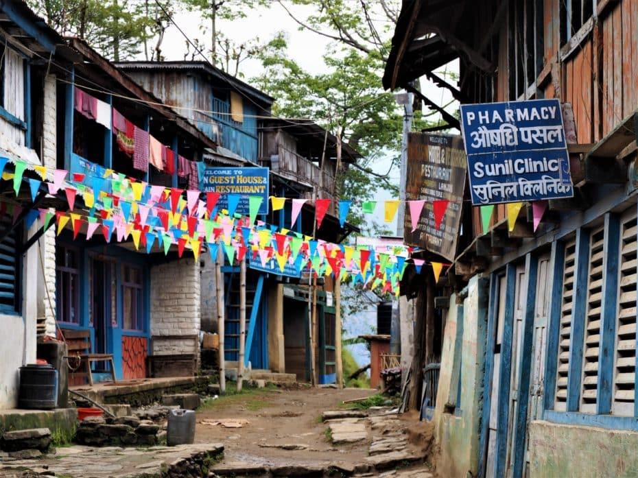 hébergement trek des Annapurnas