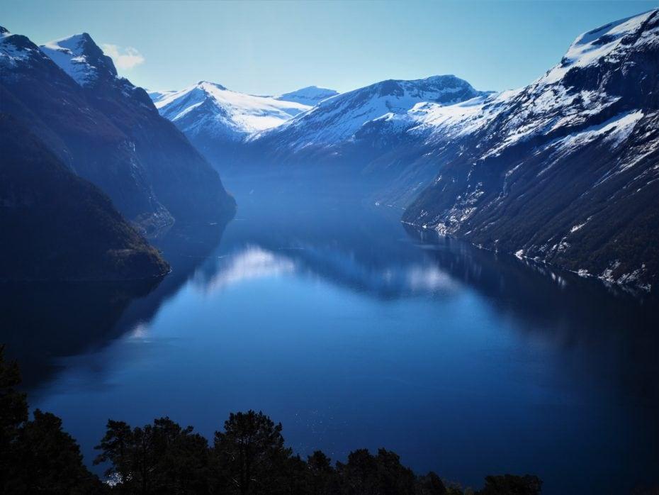 Fjord magnifique Norvège