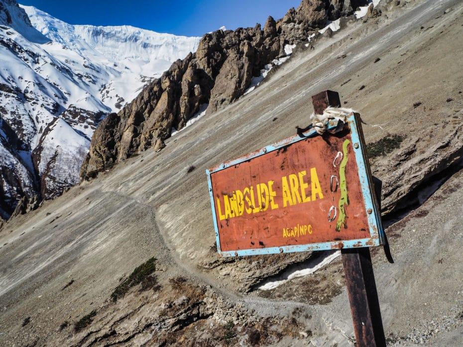 itinéraire trek annapurnas
