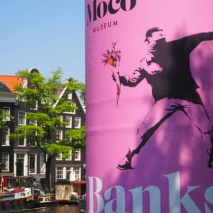 Exposition Banksy Amsterdam