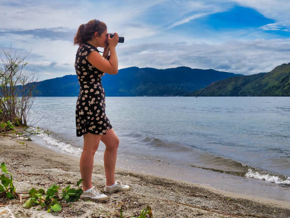 photographie lac toba