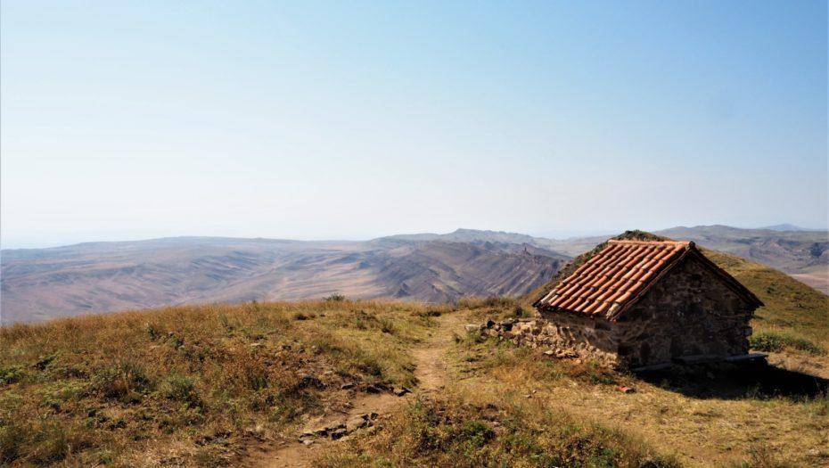 paysages autour du monastère David Garedja