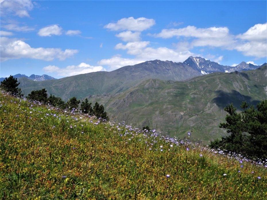 paysages alpins du caucase