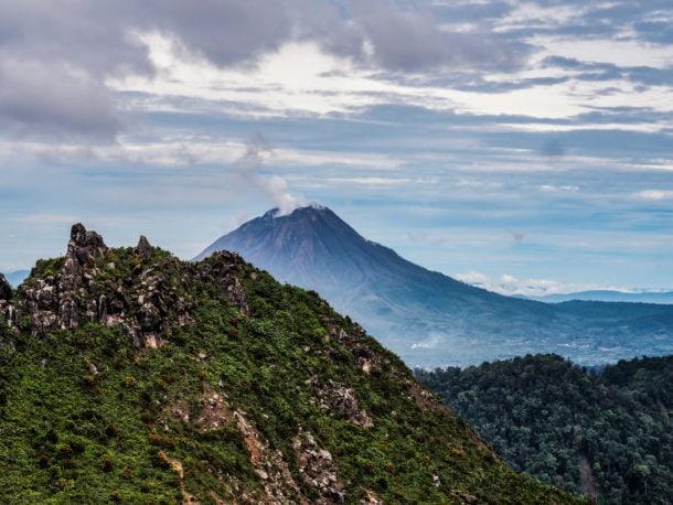 Volacn Mont Sinabung Sumatra