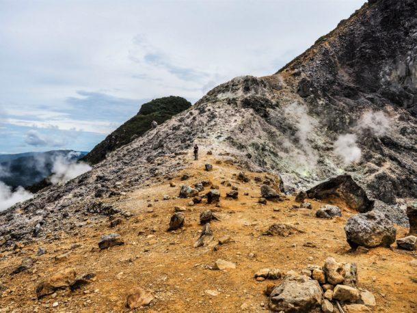 Ascension Volcan Sumatra