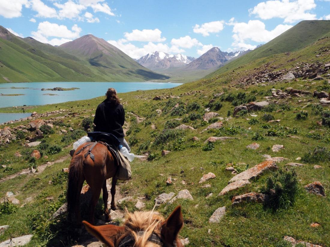 Trek à cheval Kirghizistan