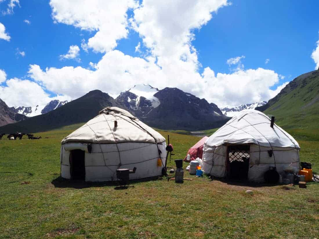 iourte kirghizses